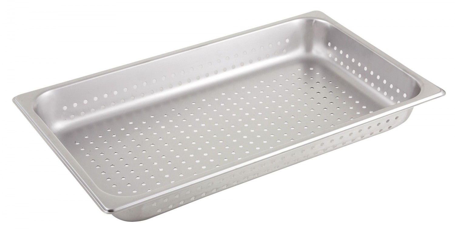 Winco SPFP2 Full Size Perforated Steam Pan 2-1/2""