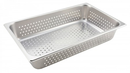 Winco SPFP4 Full Size Steam Table Pan 4""