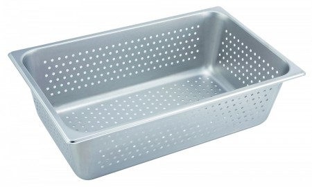 Winco SPFP6 Full Size Perforated Steam Table Pan 6""
