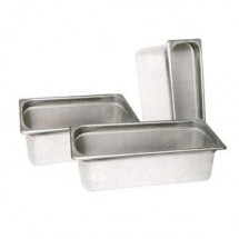 Winco SPH2-HD Half Size Steam Table Food Pan