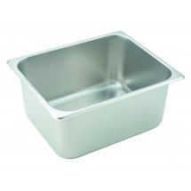 "Winco SPH6 Half Size team Pan 6"" Deep"