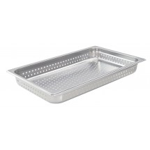 """Winco SPJH-102PF Full Size Stainless Steel Perforated Steam Pan, 2-1/2"""" Deep"""