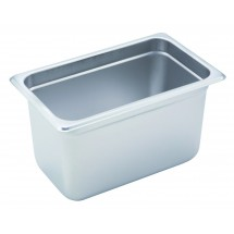 "Winco SPJH-406 Quarter Size Steam Table Pan 6"" Deep"