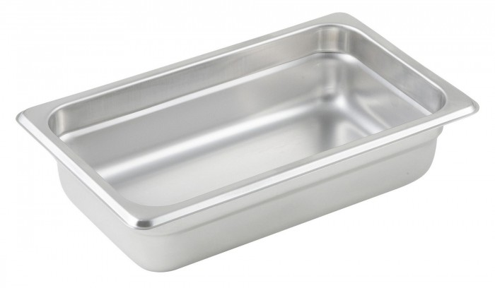 Winco SPJL-402 Quarter Size Steam Pan 2-1/2""