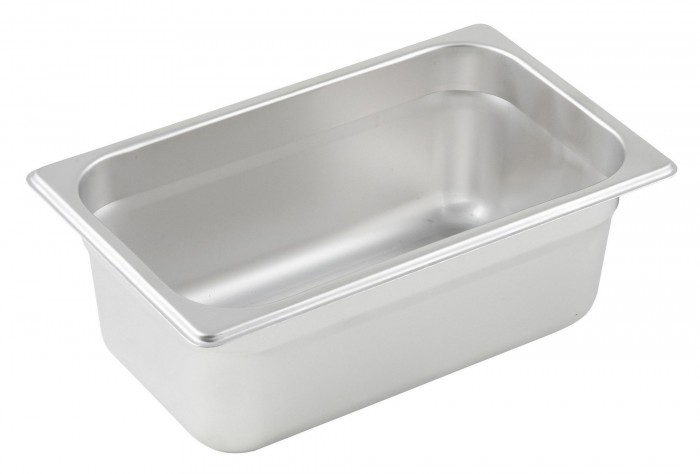 Winco SPJL-404 Quarter Size Steam Pan 4""