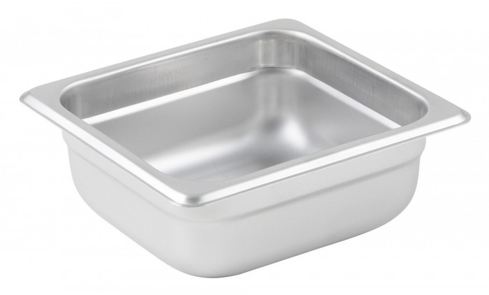 Winco SPJL-602 Sixth Size Steam Pan 2-1/2""