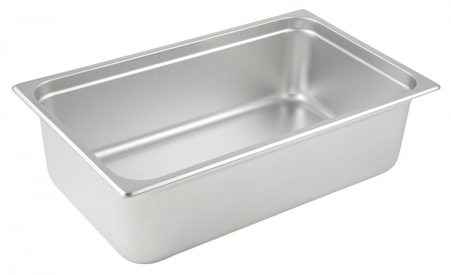 "Winco SPJM-106 Full Size Stainless Steel Steam Table Pan 6"" Deep"