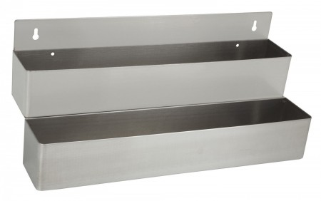 """Winco SPR-42D Stainless Steel Double Speed Rail 42"""""""