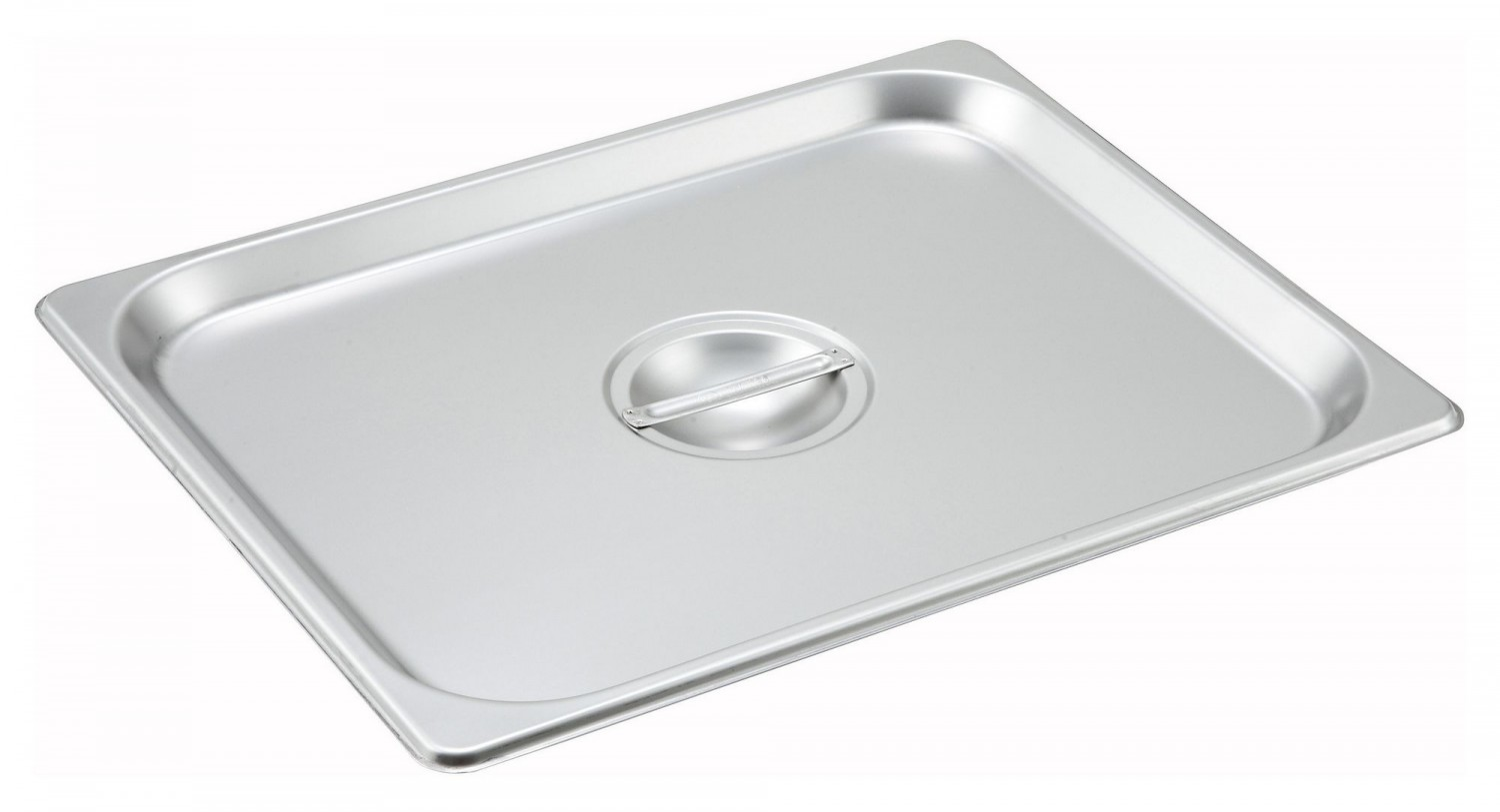 Winco SPSCH Solid Cover for Steam Table Pan 1/2 Size