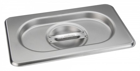 Winco SPSCN-GN Solid Stainless Steel Steam Pan Cover for SPJH-906G/N
