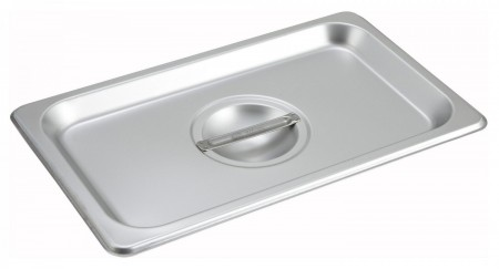 Winco SPSCQ 1/4 Size Solid Pan Cover