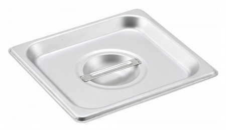 Winco SPSCS 1/6 Size Solid Steam Table Pan Cover