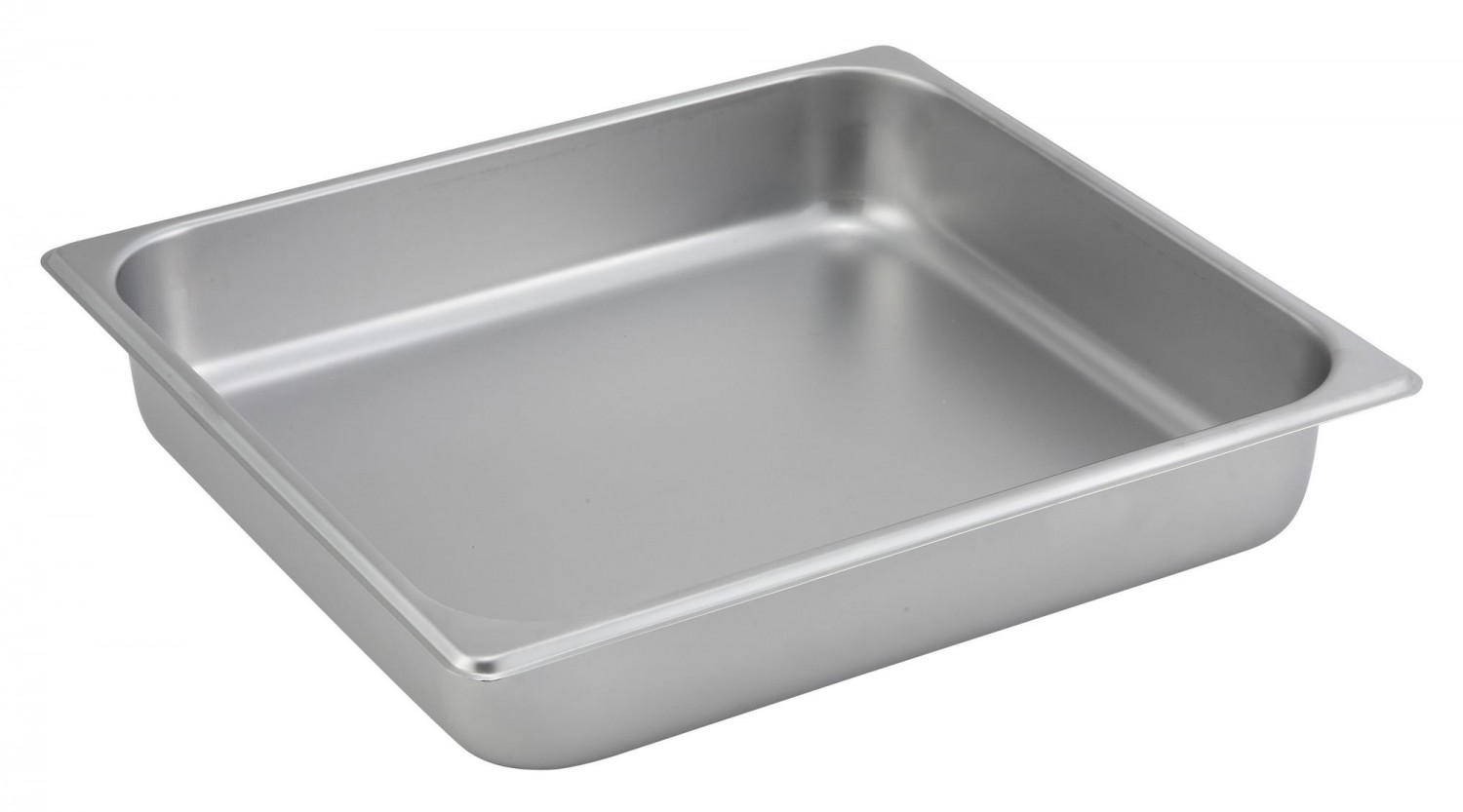 "Winco SPTT2 Two-Third Size Steam Pan 2-1/2"" Deep"