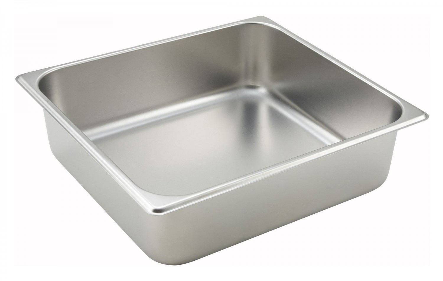 "Winco SPTT4 Two-Third Size Steam Pan 4"" Deep"