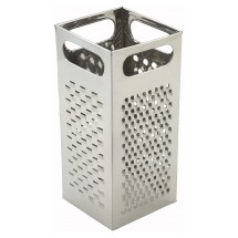 "Winco SQG-4 4-Sided Stainless Steel Box Grater, 9"" x 4"""