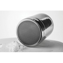 Winco SSD-10 Stainless Steel Powdered Sugar Dispenser 10 oz.