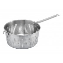 "Winco SSS-3 Stainless Steel Spaghetti Strainer 8-1/2"" x 4"""