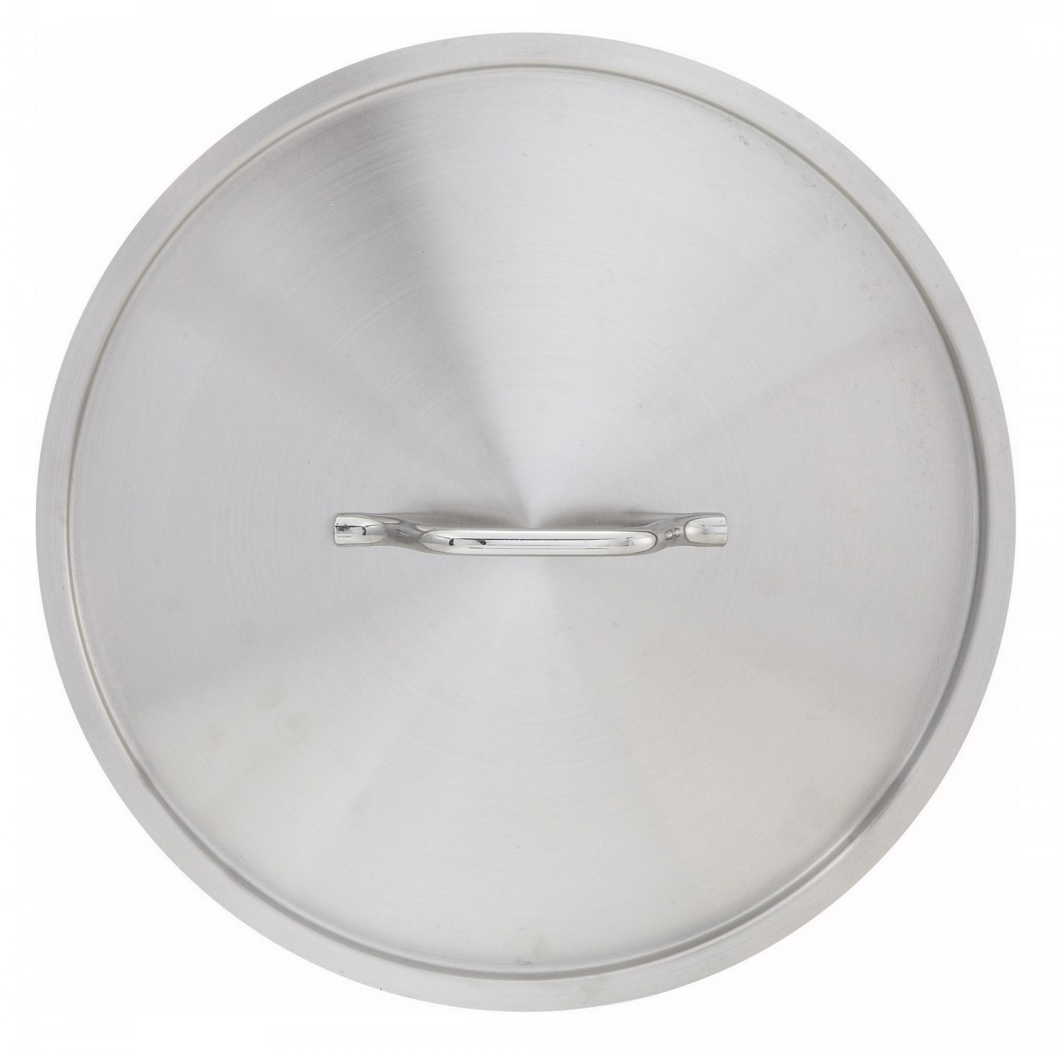 Winco SSTC-8F Stainless Steel  Fry Pan Cover for SSFP-8/8NS, SSSP-3/4