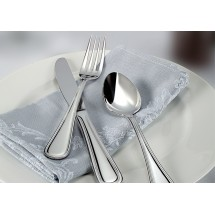 Winco Shangarila 5-Piece Extra Heavy Weight Flatware Set - Service for 12