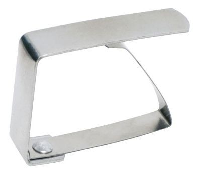 Winco TBC-1 Stainless Steel Table Cloth Clip - 1 doz