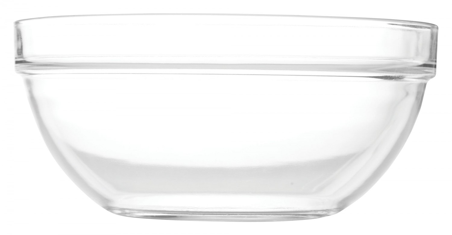 Winco TDSF-4-GLS Replacement Glass Bowl For Display Server Riser TDSF-4