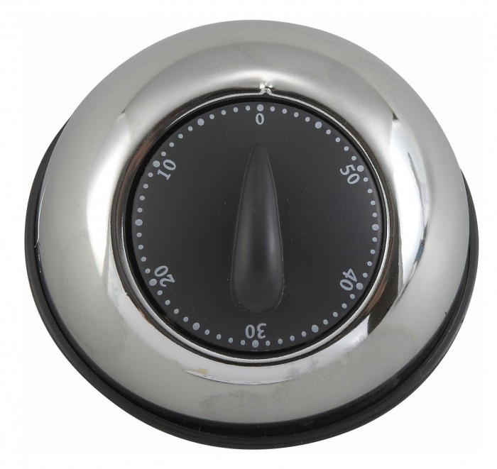 Winco TIM-78 Stainless Steel Mechanical Timer