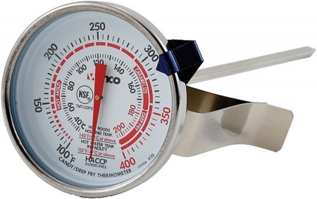 """Winco TMT-CDF2 Candy/Deep Fry Thermometer 5"""""""