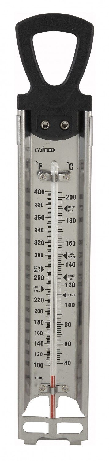 Winco TMT-CDF4 Paddle Type Candy Deep Fry Thermometer 11""
