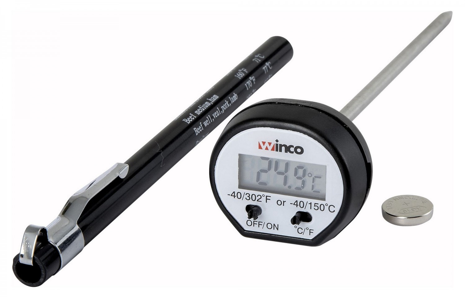 Winco TMT-DG1 Pocket Thermometer