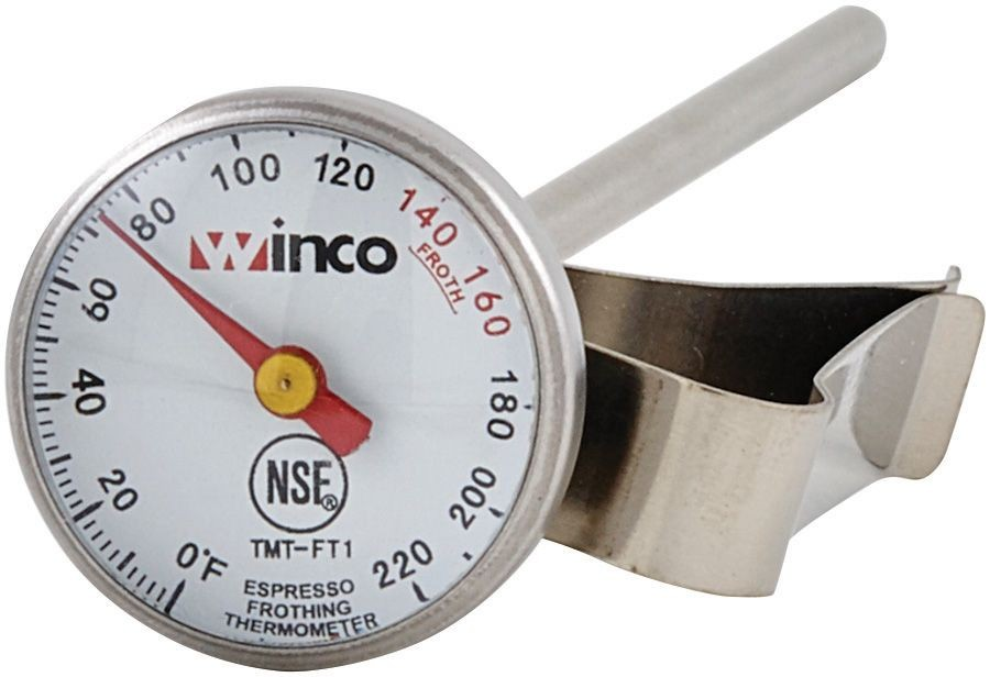 Winco TMT-FT1 Frothing Thermometer 1""
