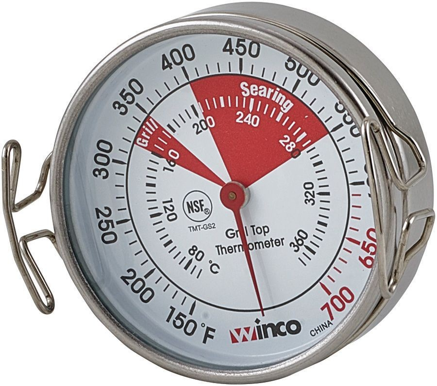 Winco TMT-GS2 Grill Surface Thermometer 2""