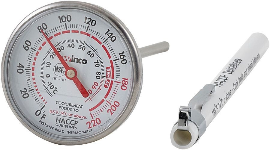 Winco TMT-IR1 Pocket Instant Read Thermometer 1-3/4""