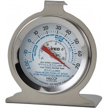 Winco TMT-RF2 Refrigerator/Freezer Thermometer 2""