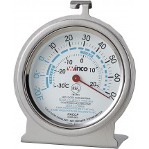 Winco TMT-RF3 Refrigerator/Freezer Thermometer 3""
