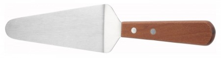 """Winco TN166 Pie Server with Wood Handle, 5-1/2"""" Blade"""