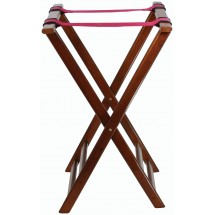 Winco TR-33W Walnut Tray Stand 32""