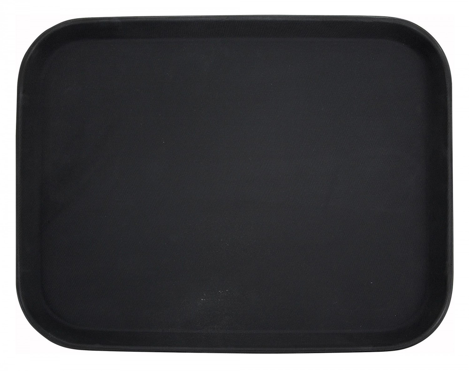 "Winco TRH-1418K Black Easy Hold Tray 14"" x 18"""