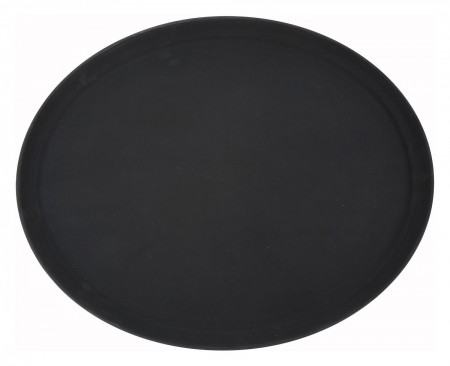 "Winco TRH-2722K Black Easy Hold Tray 22"" x 27"""