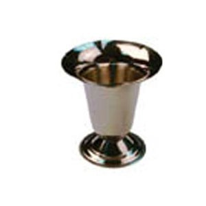 Winco TS-6 Stainless Steel 6 Oz. Tulip Sundae Dish