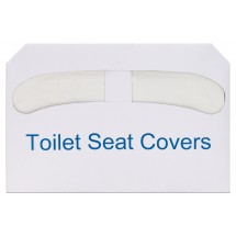 Winco TSC-250 Half-Fold Toilet Seat Cover Paper - 250 Pieces