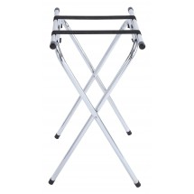 Winco TSY-1A Chrome Tray Stand 31""