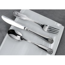 Winco Toulouse 5-Piece Extra Heavy Weight Flatware Set - Service for 12