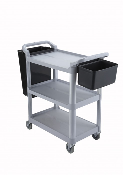 Winco UC-35G 3 Tier Utility Cart