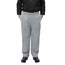 Winco UNF-4KM Medium Houndstooth Poly-Cotton Blend Relaxed Fit Chef Pants