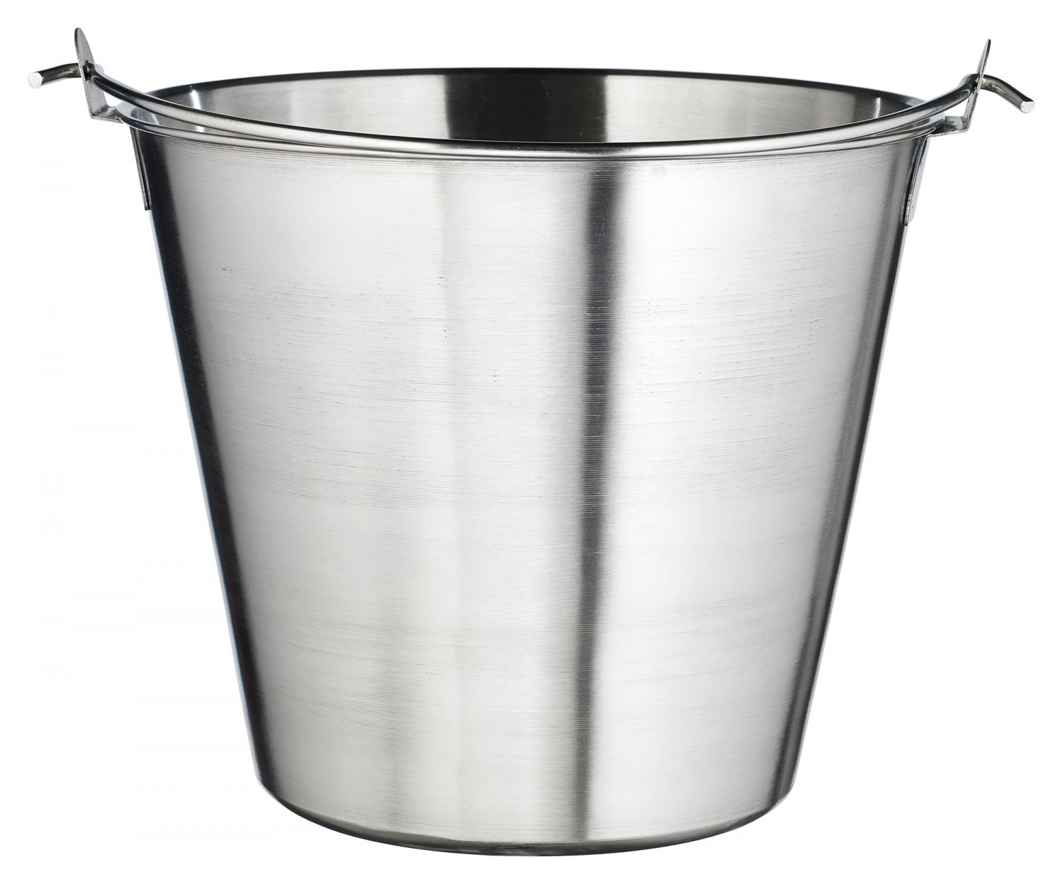 Winco UP-13 Stainless Steel Utility Pail 13 Qt.