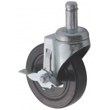 Winco VC-CTB Caster with Brake for VC-Series Shelves
