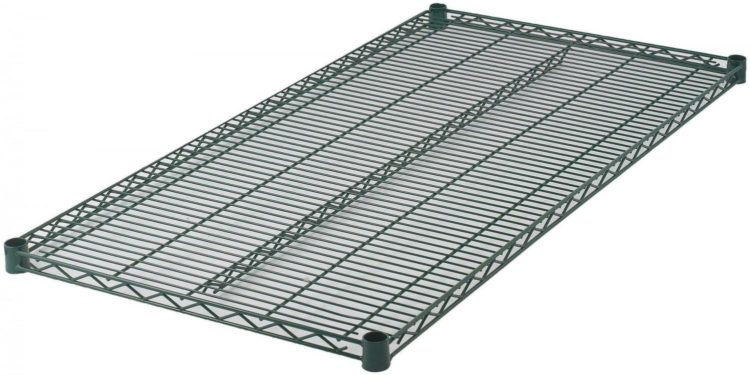 Winco VEX-2460 Epoxy-Coated Wire Shelf 24& x 60&