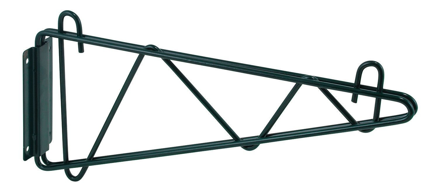 Winco VEXB-14 Epoxy-Coated Wall Mount Shelving Bracket 14W