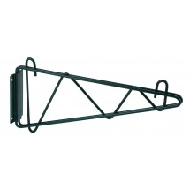 "Winco VEXB-21 Epoxy-Coated Wall Mount Shelving Bracket 21""W"