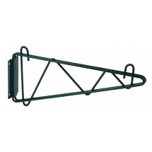 "Winco VEXB-24 Epoxy-Coated Wall Mount Shelving Bracket 24""W"